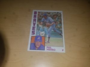 Phil Niekro (Baseball Card) for Sale in Jacksonville, IL