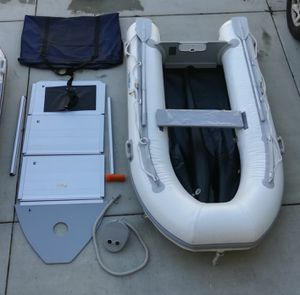 "10'9"" Inflatable boat - New - Never been used - Great Price $580 for Sale in Corona, CA"