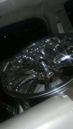 Brand new rims and brand new adapaters.pricw reduced for Sale in Denver, CO