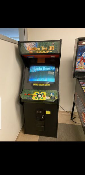 Golden Tee 3D Golf Arcade game for Sale in Santa Ana, CA