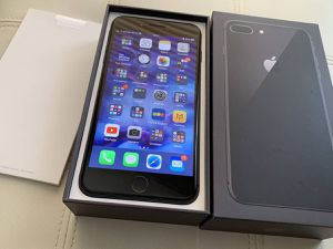 iPhone 8 unlocked to use any carrier box case charger glass protector like new for Sale in Toms River, NJ