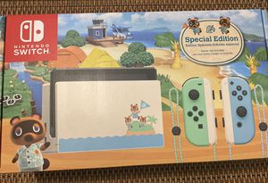 NINTENDO SWITCH ANIMAL CROSSING... SPECIAL EDITION for Sale in Silver Spring, MD