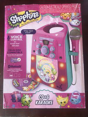 New Shopkins CD+G Karaoke Machine for Sale in East Brunswick, NJ