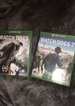 Watch dogs 1 and 2 , Xbox one for Sale in Starkville, MS