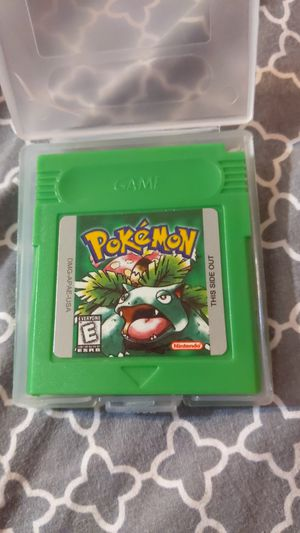 Pokemon green Gameboy color for Sale in Downey, CA