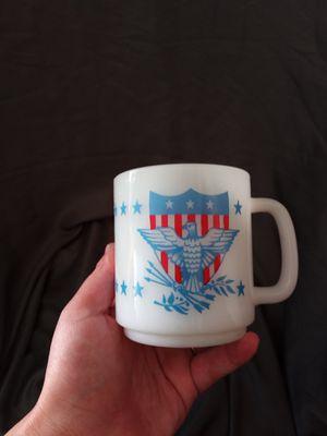 Milk glass American mug for Sale in Providence, RI