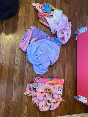 3 Toddler Bedding sets paw patrol dr dr mcstuffins Lalaloopsy for Sale in Glendale, AZ
