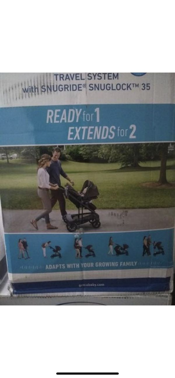 Brand new in box GRACO RELAY travel system Car seat and Strolle
