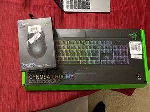 Gaming keyboard and mouse (Razer) for Sale in Boynton Beach, FL