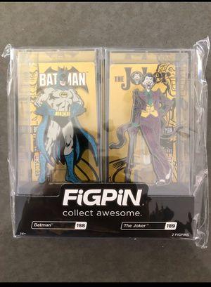 Batman and Joker FigPin for Sale in Anaheim, CA