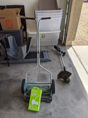 Lawn mower and weed eater for Sale in Goodyear, AZ