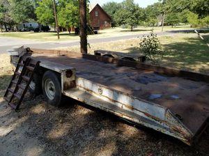 Trailer Needs to go ASAP! Heavy Duty Steel Hauler!!! 21ft. for Sale in Kennedale, TX