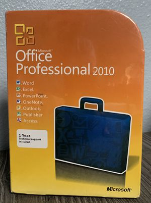 Microsoft Office Professional 2010 for Sale in City of Industry, CA