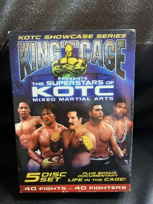 King of the cage 5 disc set for Sale in Toledo, OH