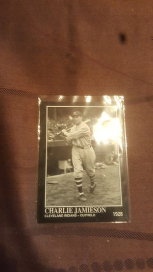 Charlie Jamieson baseball card for Sale in Stanton, CA