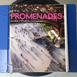 Promenades French Textbook SD MESA COLLEGE for Sale in San Diego, CA
