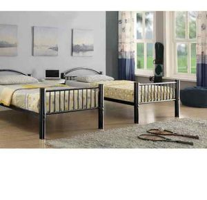 ACME Cayelynn Twin/Twin Bunk Bed - 37385BK - Black 28 for Sale in Pomona, CA