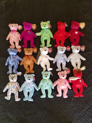 Ty bears for Sale in Moreno Valley, CA