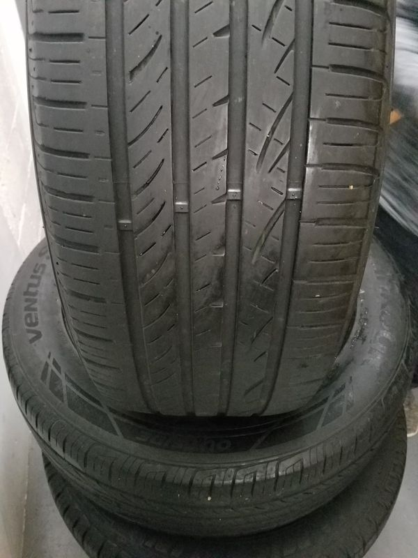 4set tires Hankook 245/55R19