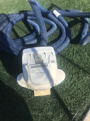 35 foot vacuum hose and Hayward pool vac ultra for Sale in Victorville, CA