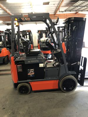 2015 Toyota 8FBCU20 Electric Forklift for Sale in Claremont, CA