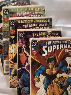 The Adventures Of Superman 511- 515 for Sale in Rosemead,  CA