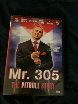 Pitbull - Mr. 305: The Pitbull Story (DVD, 2006) Musical & Performing Arts VG for Sale in Bethesda, MD