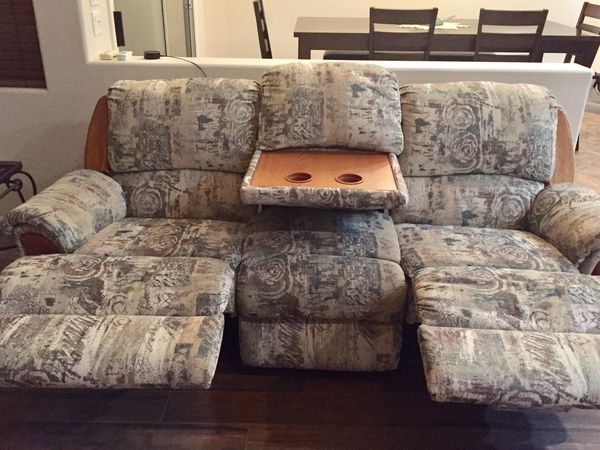 Double reclining sofa - great condition