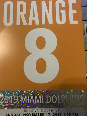 Orange parking pass for today for Sale in Delray Beach, FL
