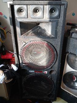 "15"" party speaker for Sale in Morgantown,  WV"