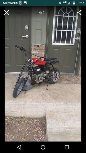 Rupp mini bike with a predator 212cc for Sale in Nashville, TN