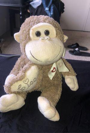 Cute monkey stuffed animal for Sale in Garden Grove, CA