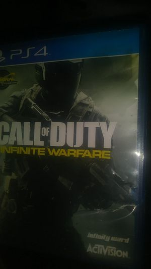 Call of duty infinite warfare for ps4 for Sale in Apopka, FL