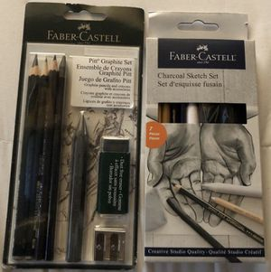 Faber- Castell graphite & sketch set for Sale in Peyton, CO