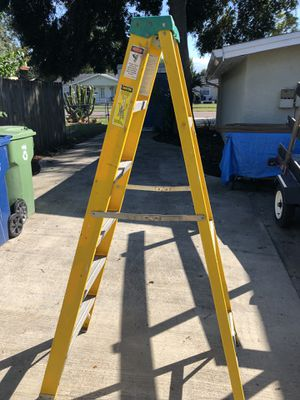 Fiberglass ladder for Sale in Tampa, FL