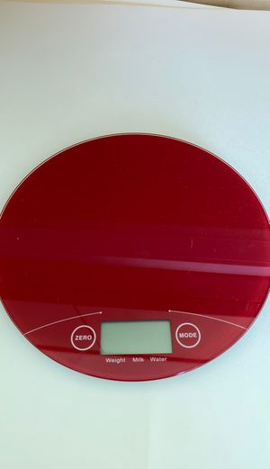 Electronic kitchen scale for Sale in Tampa, FL