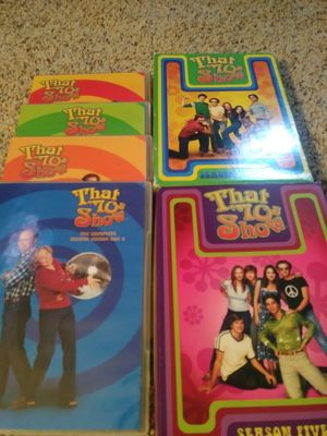 Dvds box sets, that ups show season 2, 3, and 5 perfect condition complete sets for Sale in Crystal City, MO