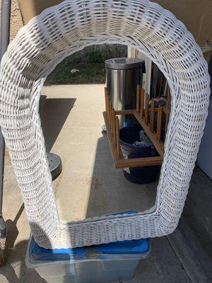 Pier 1 Imports Wicker Mirror for Sale in Norwalk, CA