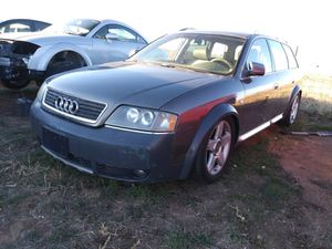 Audi allroad year 2004 only parts 2.7 engine in good condition and transmission in good condition tires in good condition for Sale in Aurora, CO