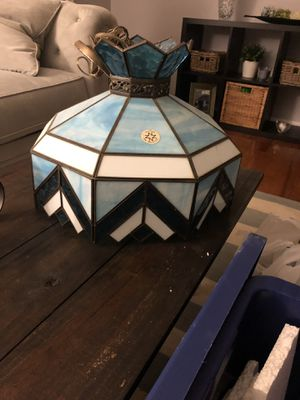 Stain glass vintage Tiffany style ceiling hanging lamp for Sale in Springfield, VA