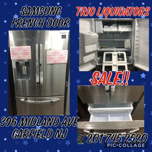 Samsung French Door SALE !! for Sale in Saddle Brook, NJ