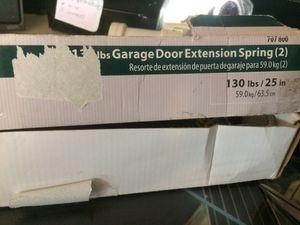 New garage door springs for Sale in Hampton, VA