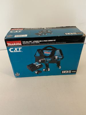 Makita 12-Volt MAX CXT Lithium-Ion Cordless 3/8 in. Drill and Impact Driver Combo Kit with (2) 1.5Ah Batteries Charger and Bag for Sale in Fort Lauderdale, FL