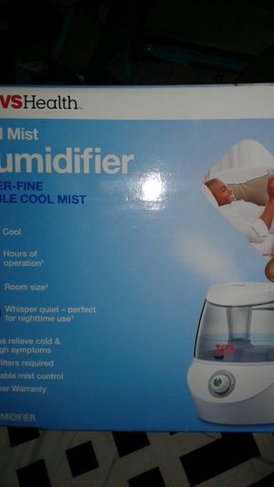 Cool mist humidifier for Sale in Hialeah, FL