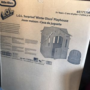 LOL Surprise Winter Disco Cottage Playhouse for Sale in Chicago, IL