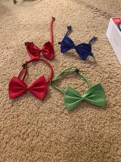 Dog collar bow tie for Sale in Maryville,  TN