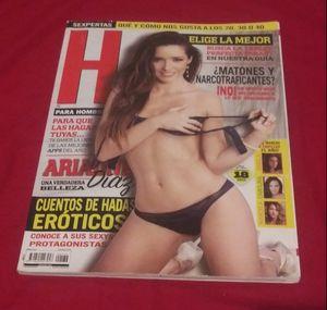 Ariadne Díaz, Revista H para Hombres Enero 2014 Retro for Sale in San Antonio, TX