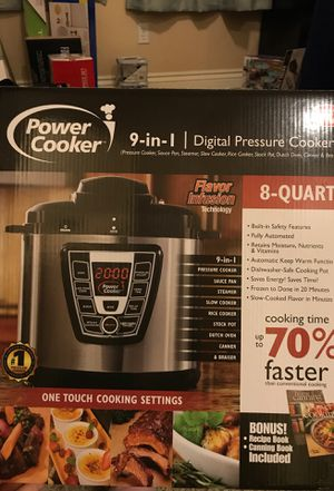 Power cooker 8qt for Sale in Bakersfield, CA