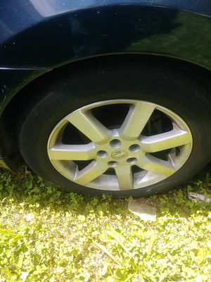 Nissan maxima rims and tires for Sale in Indian Head, MD