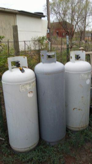 Propane tanks 3 of them for Sale in Amarillo, TX